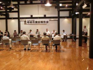 28.8.9議会報告会(井口会場)